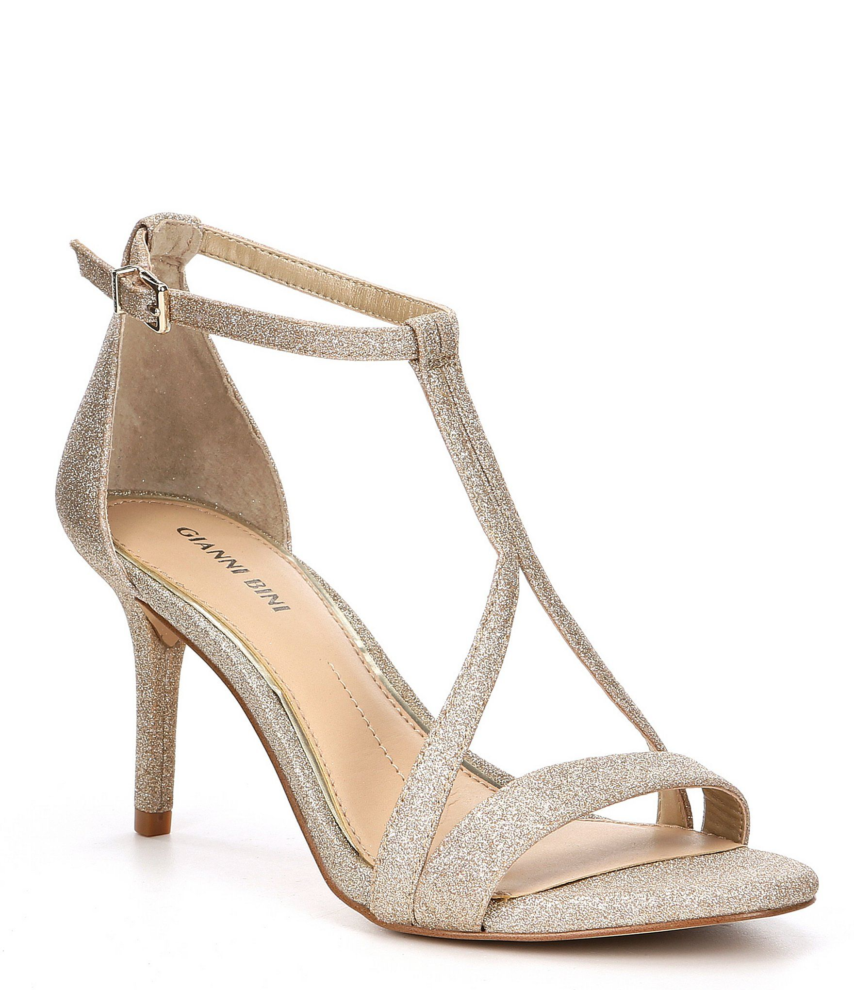 Pin By Susana Font On بلارينا In 2021 T Strap Sandals Gold Dress Sandals Gold Bridal Shoes