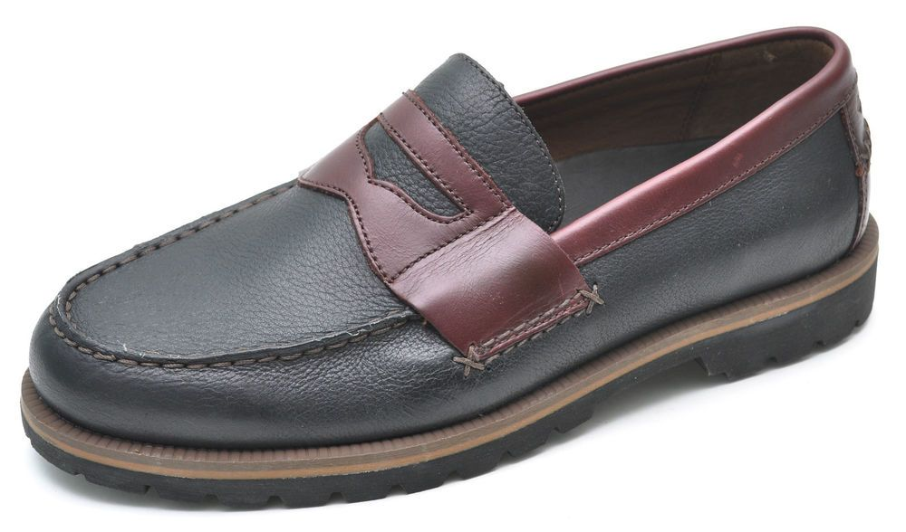 c5ed91202407 Columbia SUMMER LAKE Black Classic Penny Loafers Men s 8 - NEW - BM2292   Columbia  LoafersSlipOns