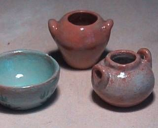 Air dry clay pottery miniatures pinterest air dry for Craft porcelain air dry clay