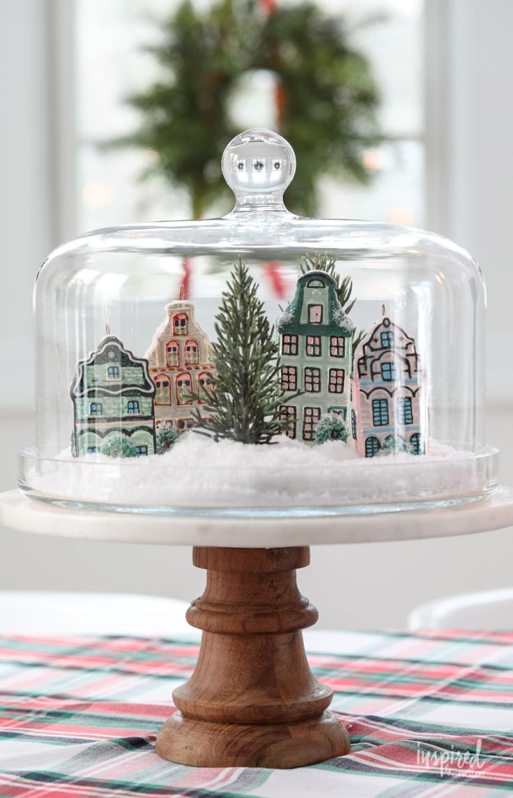 How to create a simple christmas centerpiece christmas
