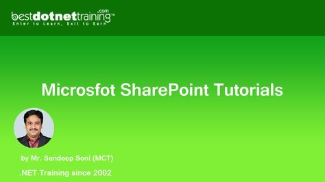 This board consists tutorial videos of SharePoint 2013 for beginners ...