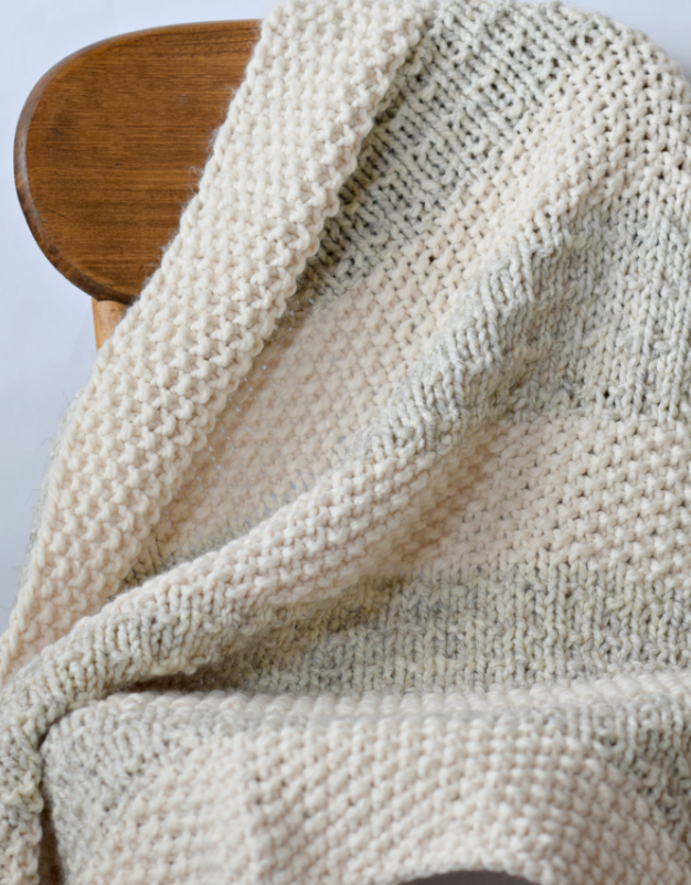 Easy Heirloom Knit Blanket Pattern Knitting Blanket Patterns