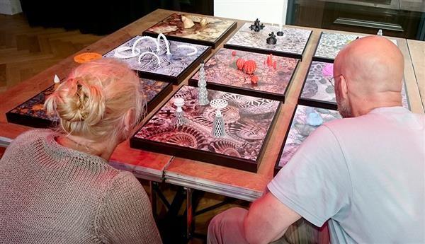 Artist Martijn Hage creates gorgeous 9-piece 3D printed 'Hortus Filamentus' artwork