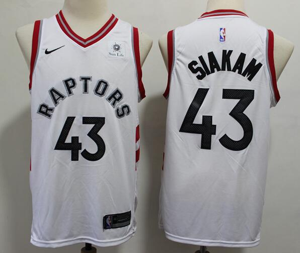 Mens Toronto Raptors #43 Pascal Siakam Red Swingman Jersey Icon Edition