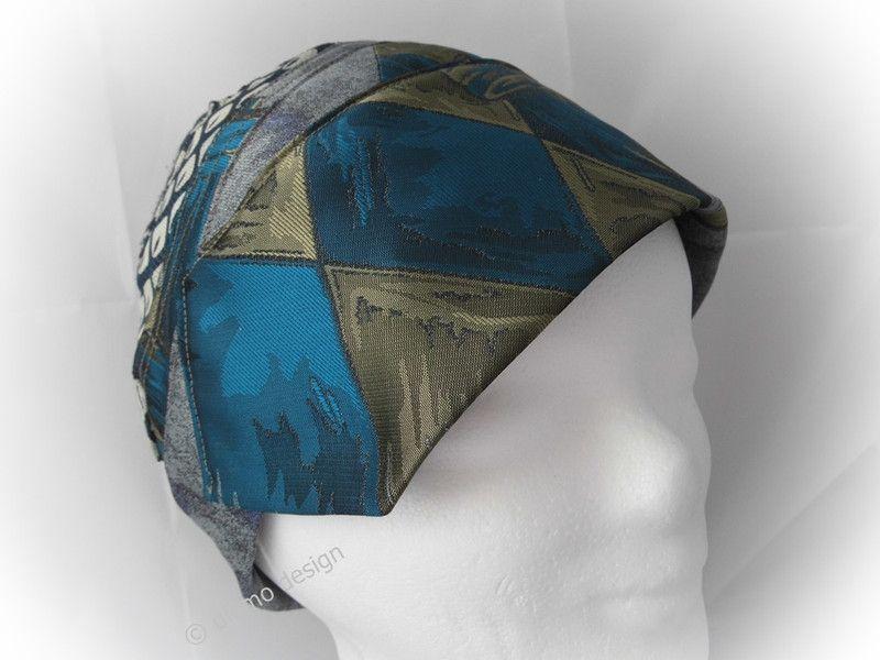 Hüte - Hut, Kappe, Krawatten Upcycling -Unikat - ein Designerstück ...