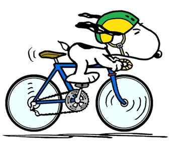 Snoopy - The World Famous Tour de France Rider (smaller)