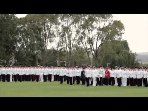 ADFA Chief of the Defence Force Parade 2013 This is amazing and very proud moment
