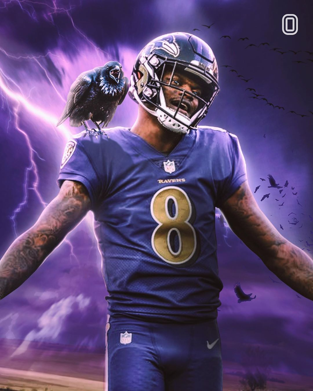 Overtime Edits On Instagram Who S Your Fave Player New Era8 Overtimeszn In 2020 Nfl Football Art Lamar Jackson Wallpaper Football Is Life