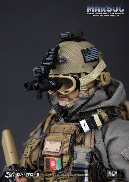 onesixthscalepictures: DAM Toys MARSOC Special Ops Team Operator (Marine Special Operations Regiment) : Latest product news for 1/6 scale fi...
