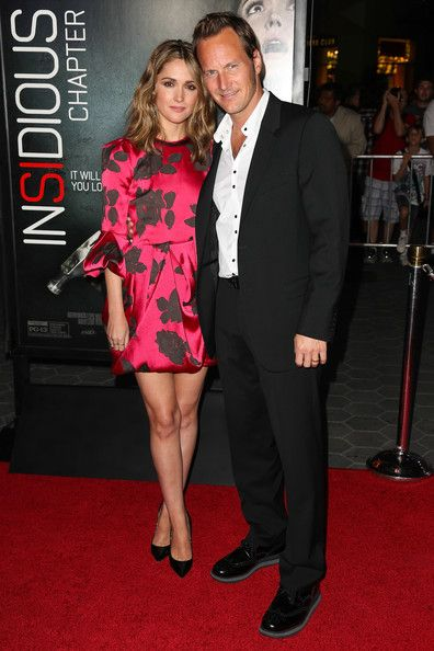 Rose Byrne Photos Photos Insidious Chapter 2 Premieres In Universal City Part 3 Rose Byrne Patrick Wilson Actresses