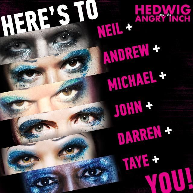 Hedwig On Broadway On With Images Hedwig Darren Criss Andrew
