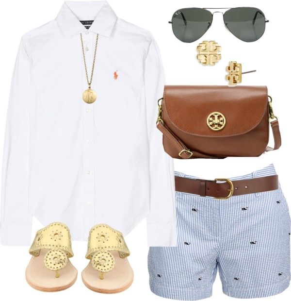 Spring outfit. Perfectly preppy