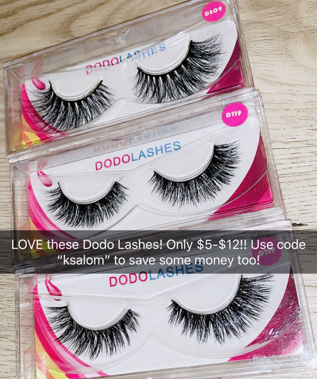 8e839e26721 Dodo Lashes are the best! They are only $5-$12 and you can use code