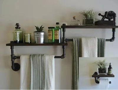 towel rack with shelves | bATh reMOdEl | Pinterest | Towels, Shelves ...