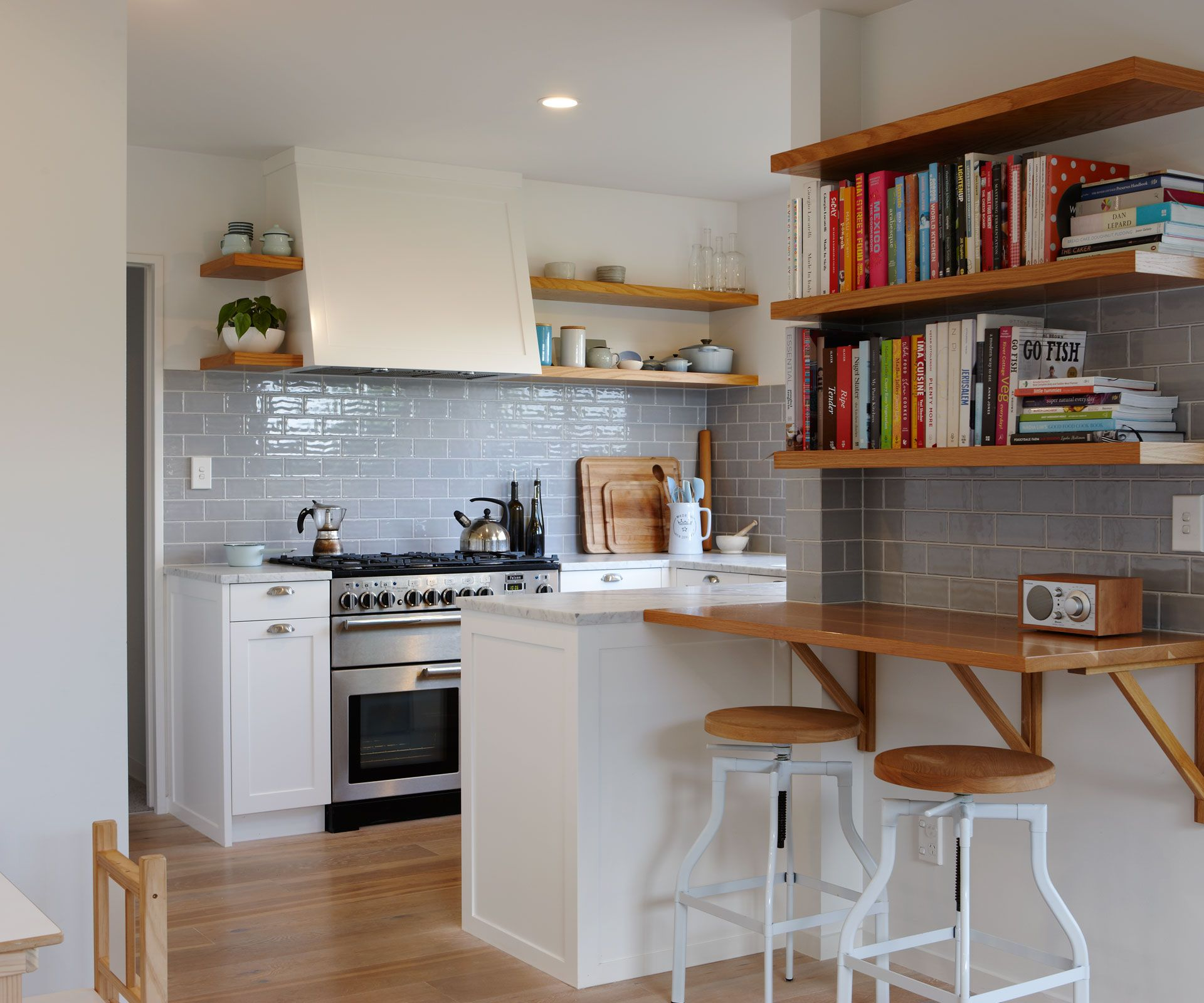 This Kitchen Renovation Balances Modern Design With Character Features