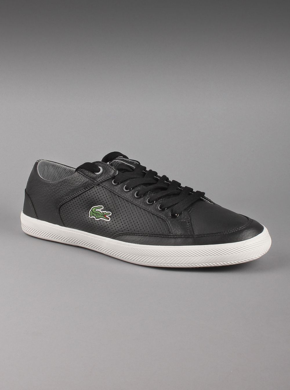 Casual Lacoste® Men's Leather In Haneda Black BlackThis Shoes Cre Y7gbvIy6f