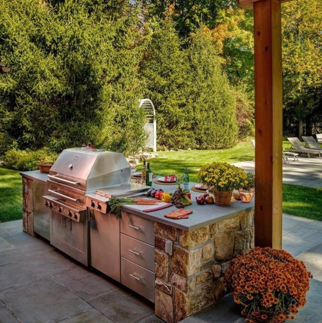 Backyard Goals Outdoor Appliances Grill Design Outdoor Kitchen