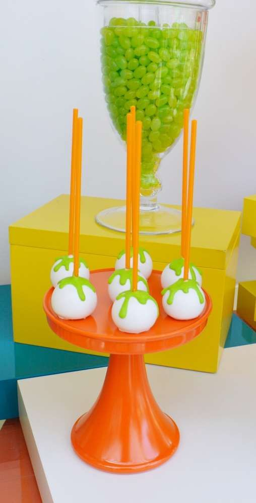 Remarkable Nick Jr Birthday Party Ideas Slime Birthday Nick Jr Birthday Funny Birthday Cards Online Alyptdamsfinfo