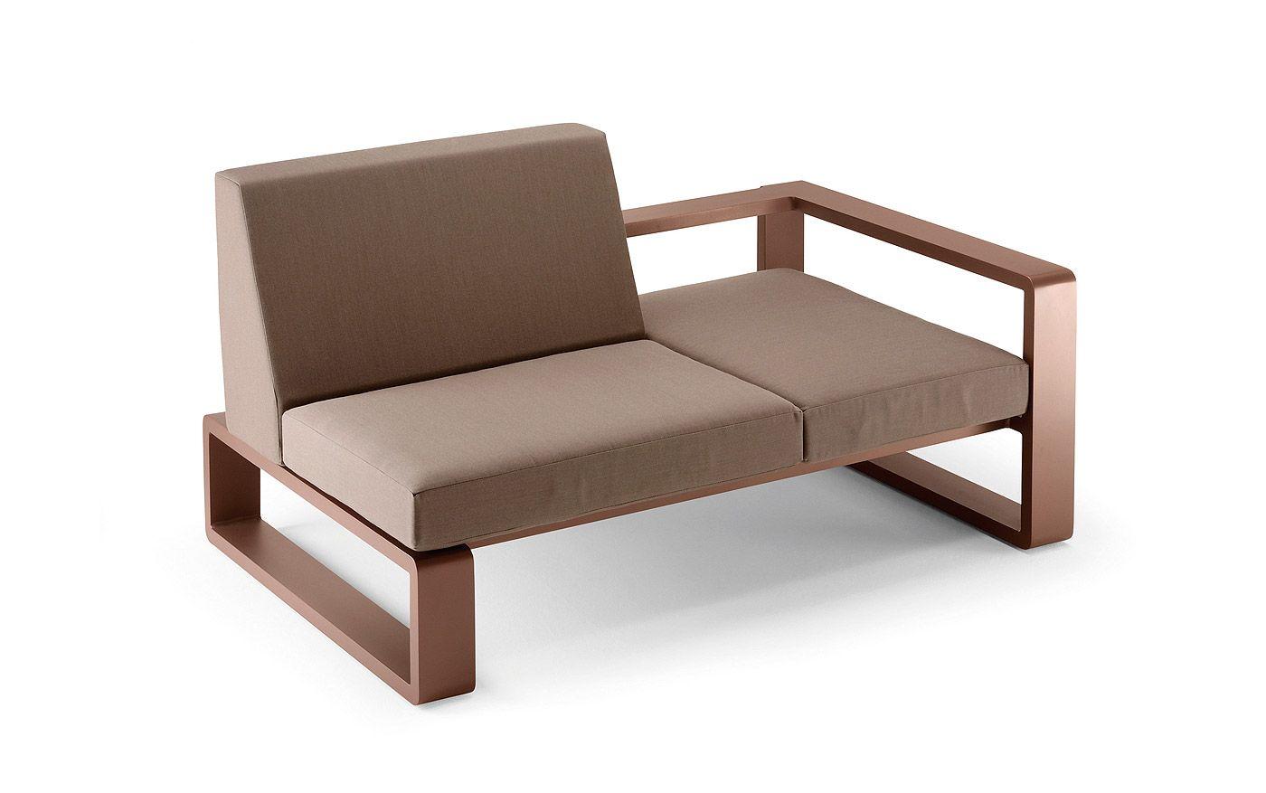 kama lounger - möbel / gartenmöbel / gartensitzmöbel - neben den