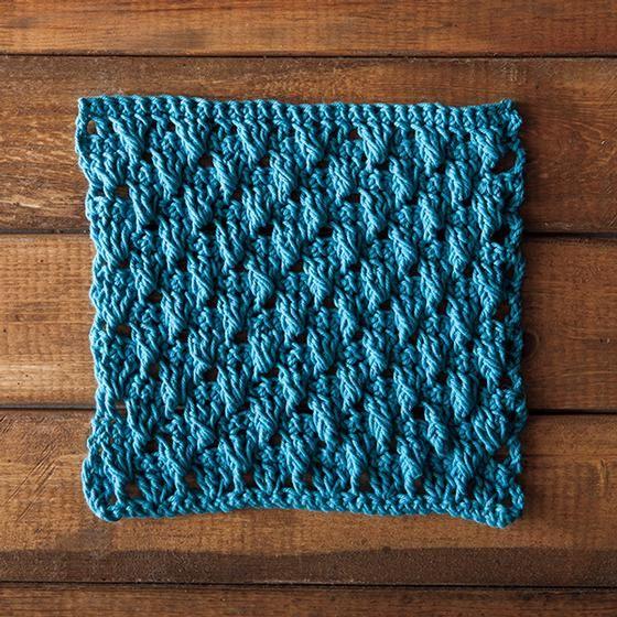Dancing Shells Crochet Dishcloth   Dishcloths   Pinterest   Puntos y ...