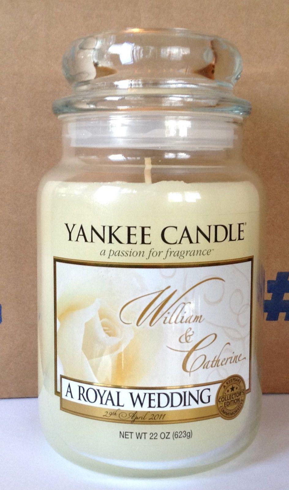 Yankee Candle A ROYAL WEDDING William & Catherine Wedding Bridal ...