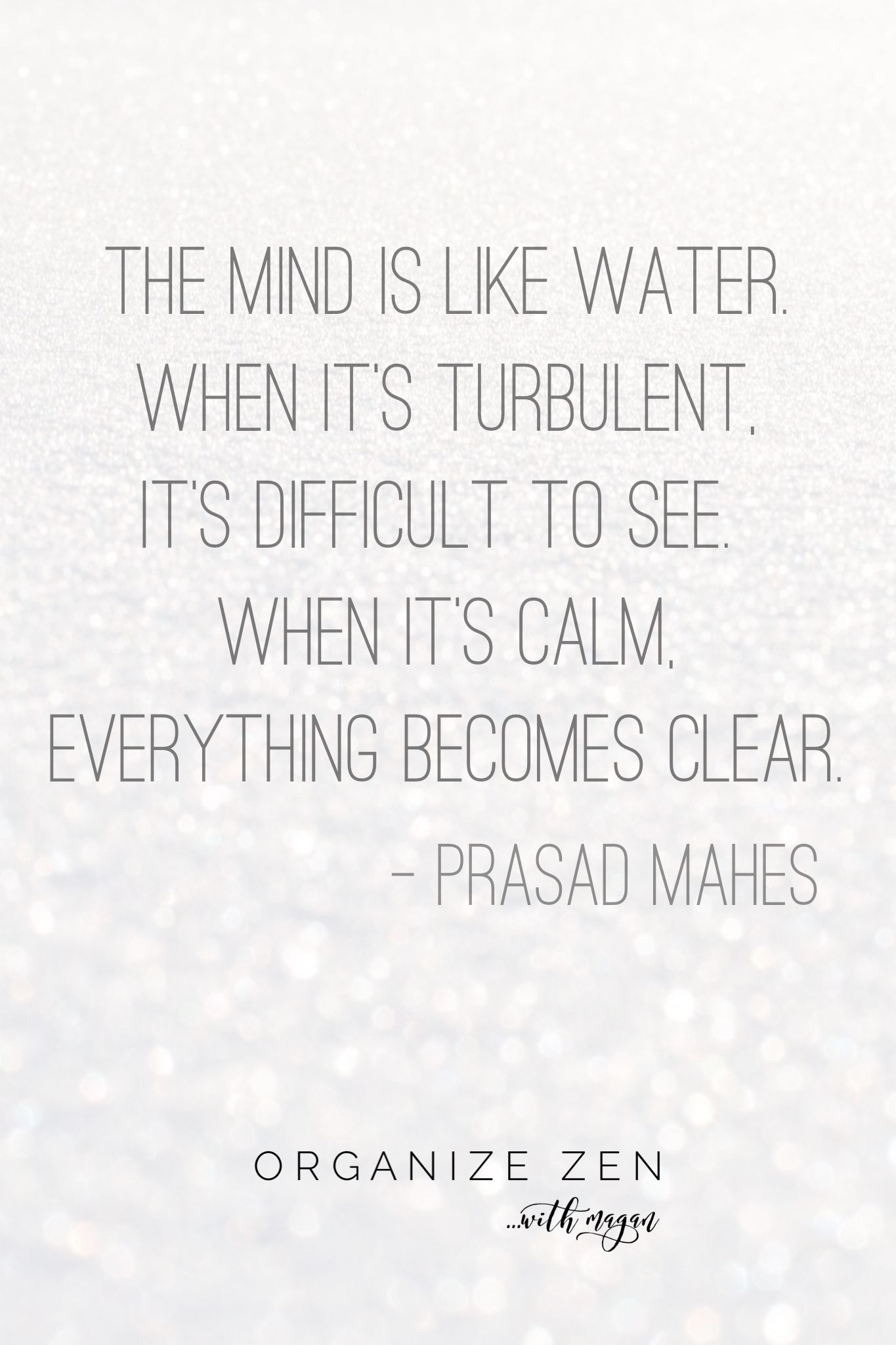 Love These Words Of Wisdom About Being More Mindful And Present