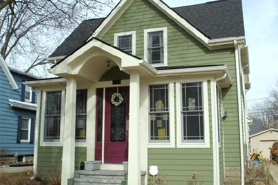 8 Popular Home Upgrades And How Much They Cost House Paint Exterior Exterior Paint Colors For House Green Siding
