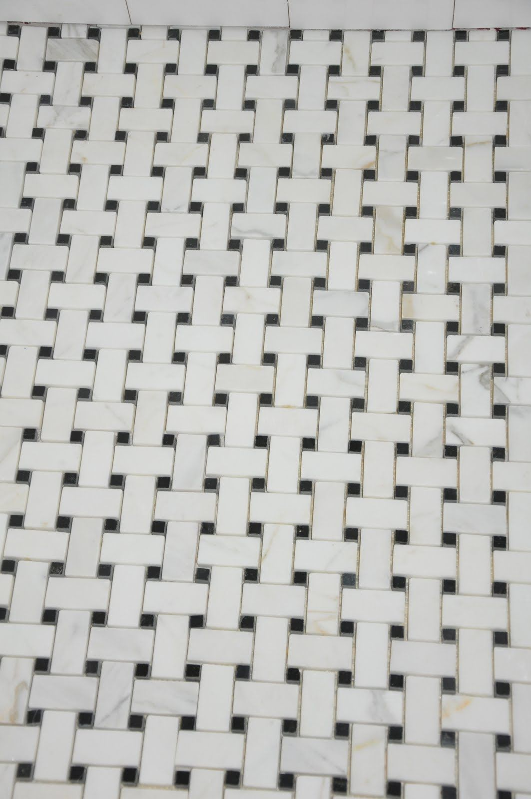 Image Result For Marble Basketweave Tile With Gray Grout Basket Weave Tile Grey Grout Tiles