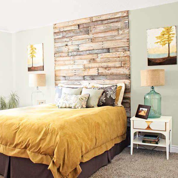 Cabeceros de cama modernos fáciles de hacer decoración interioes