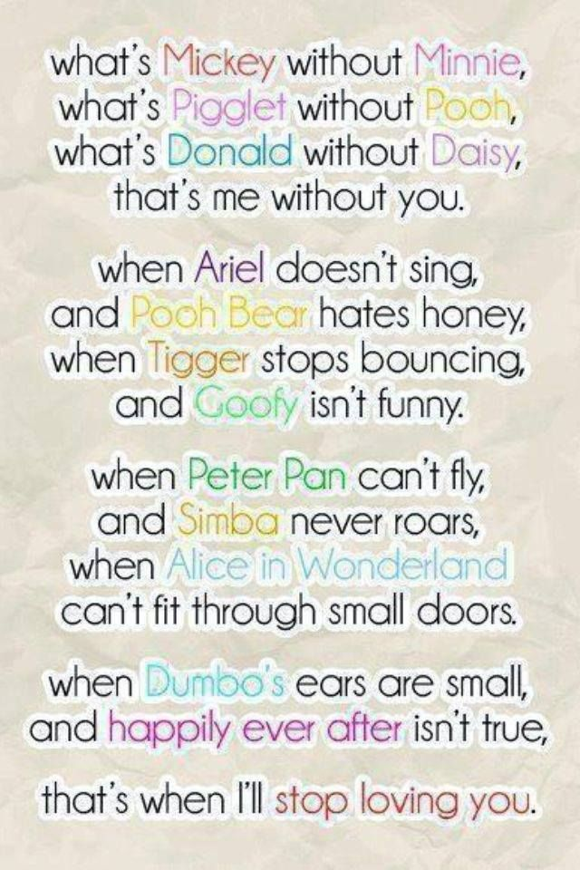 Disney Quote So Awesome This Is The Best Quote Ever And So True Best Friend Poems Friends Quotes Disney Quotes Best Friend Quotes