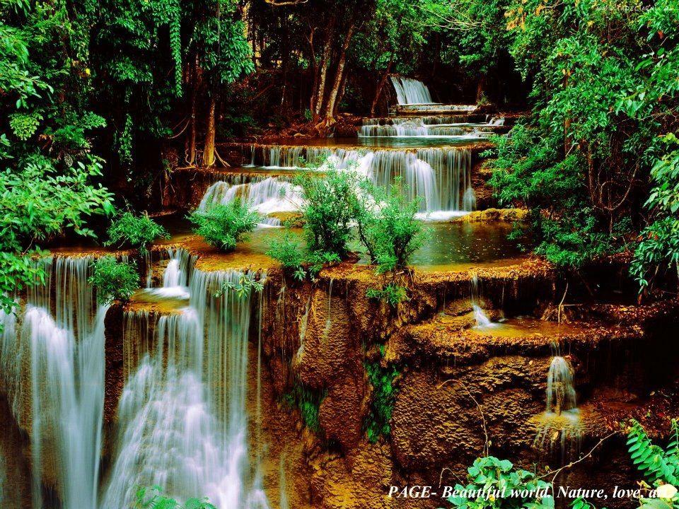 Cascadas en cascada