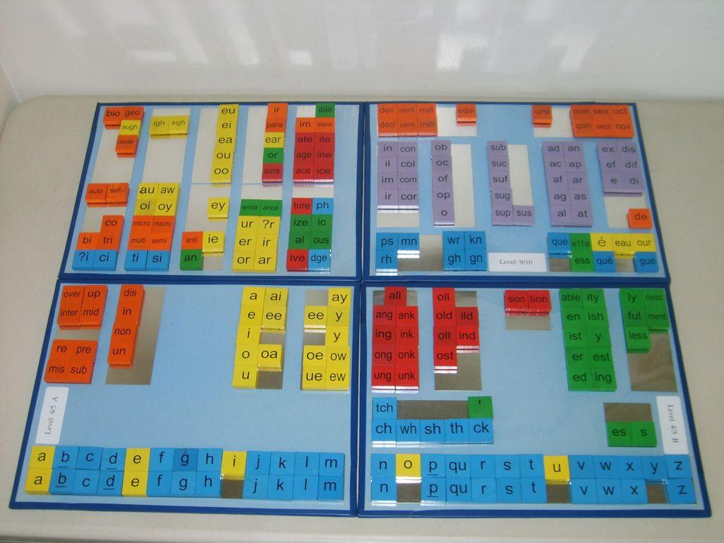 Magnetic Barton letter tile boards $250