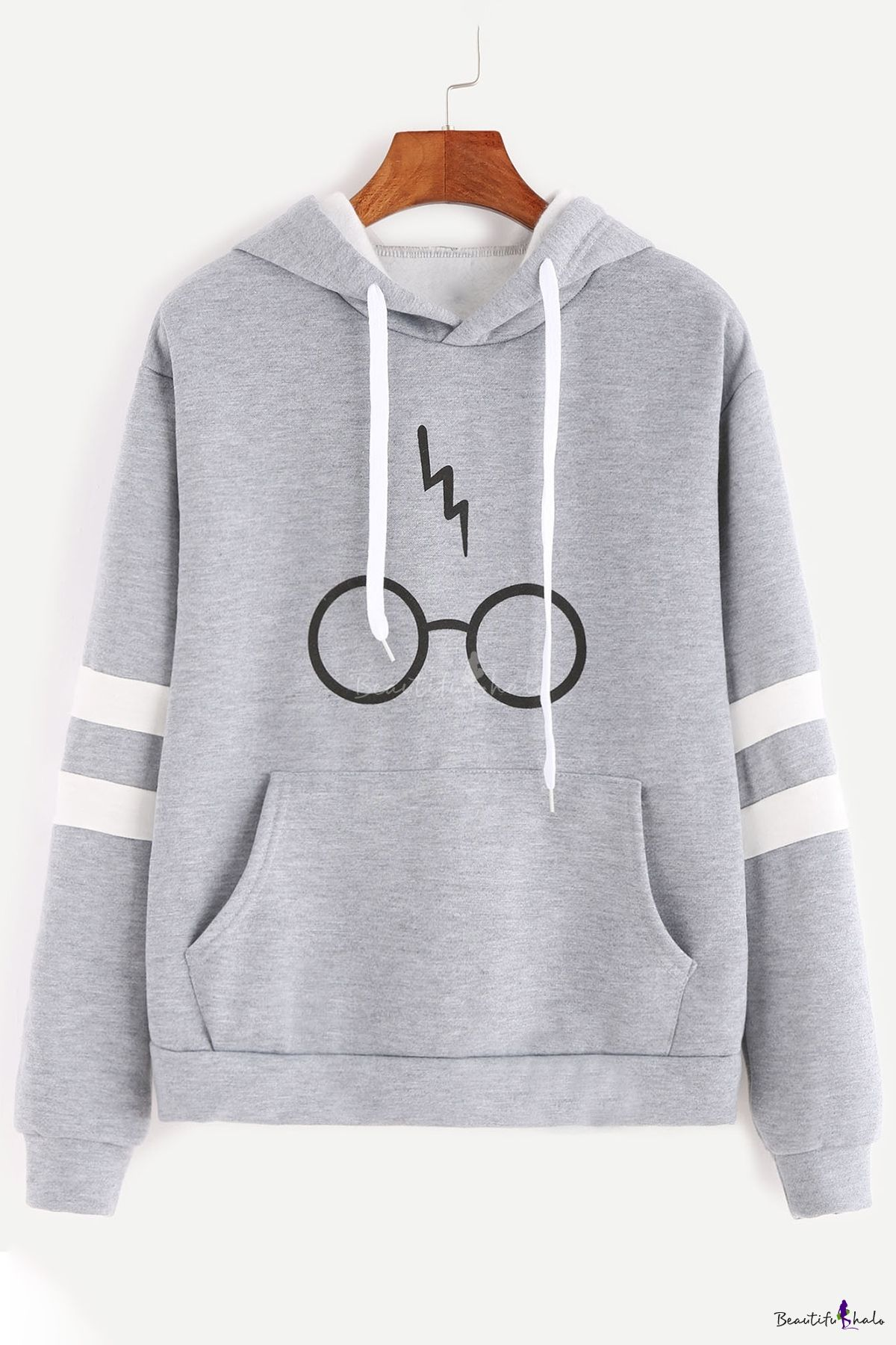 sm Harry Potter Lightning Glasses Sweatshirt Sweater High Quailty SCREEN PRINT