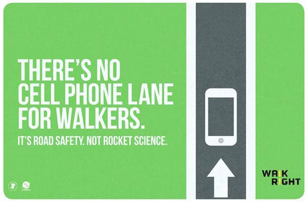Philadelphia road safety advertising