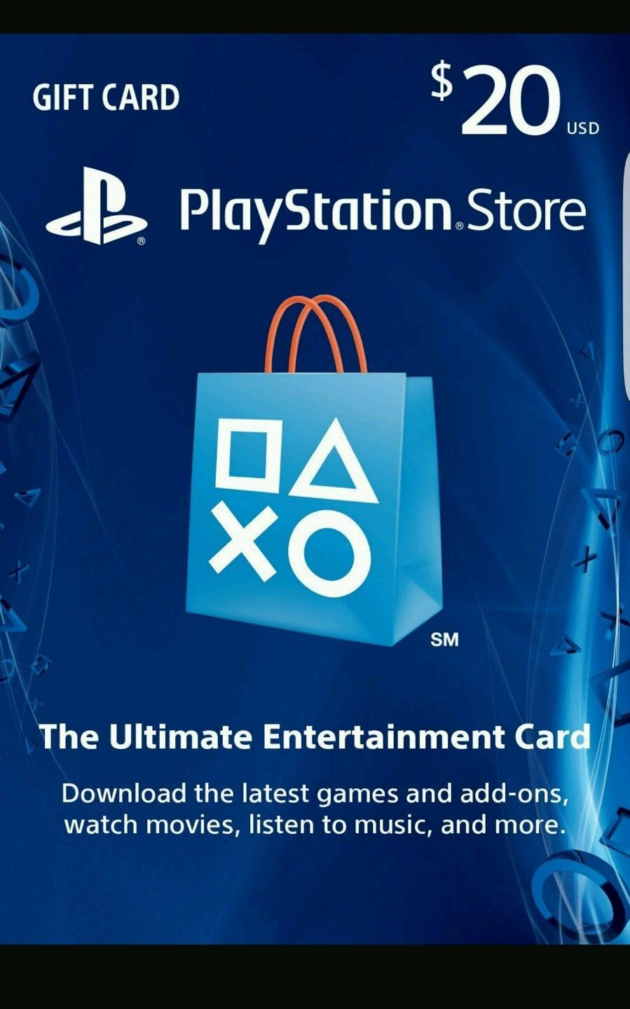 We have Playstation Network Prepaid Code available for you to with no waiting around Expect delivery w