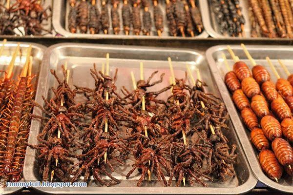 Fried Centipede