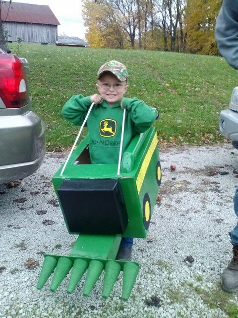 Costume  sc 1 st  Pinterest & Costume | tractor costume | Pinterest | Halloween 2017 and Costumes