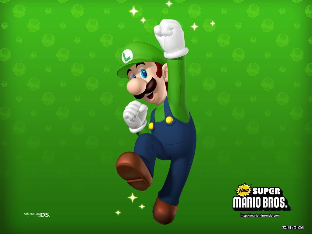 Luigi wallpaper super mario bros wallpaper video juegos luigi wallpaper super mario bros wallpaper altavistaventures Gallery