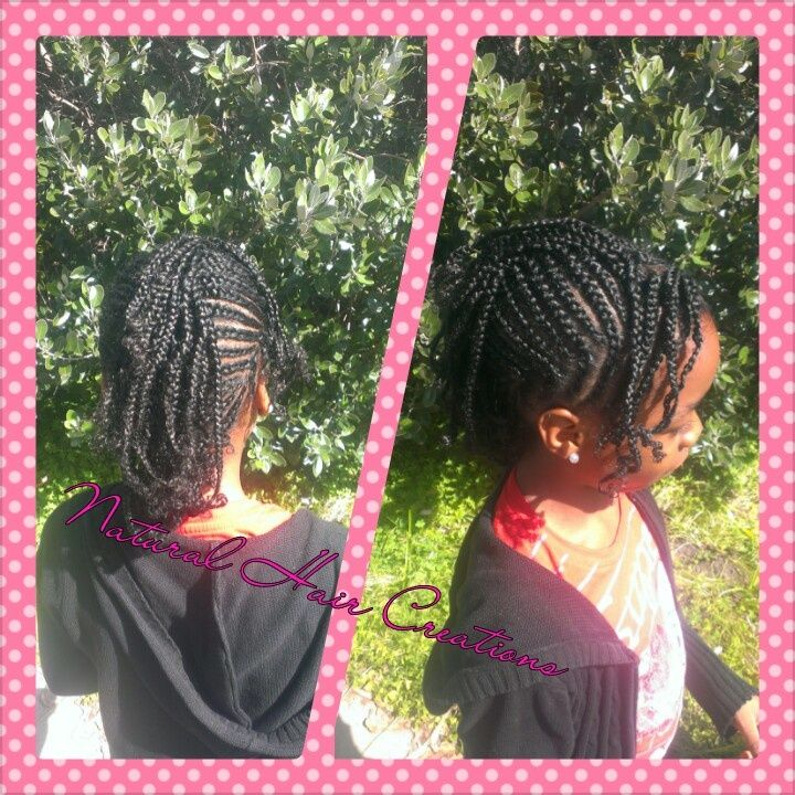 Natural Hair Styles: Back To School Hairstyles For All
