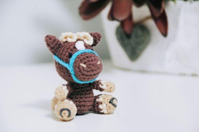 Amigurumis Caballitos A Crochet : Patrón caballito iradumi amigurumi free pattern