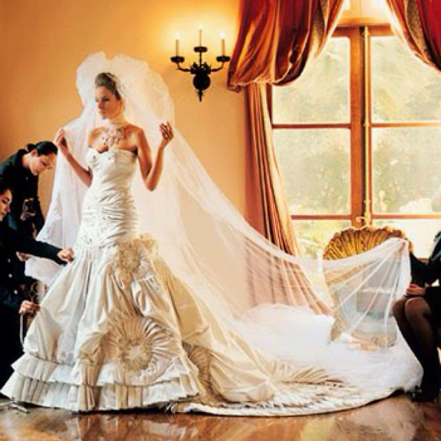 27af58b1ad4a6 Best wedding dress ever! Melania Trump in Christian Dior by John Galliano.