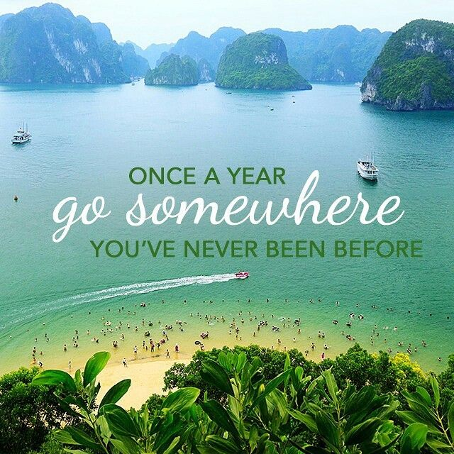 Once a year, go someplace you've never been before. - Dalai Lama  #quoteoftheday #travel   Travel, Newfoundland travel, I want to travel