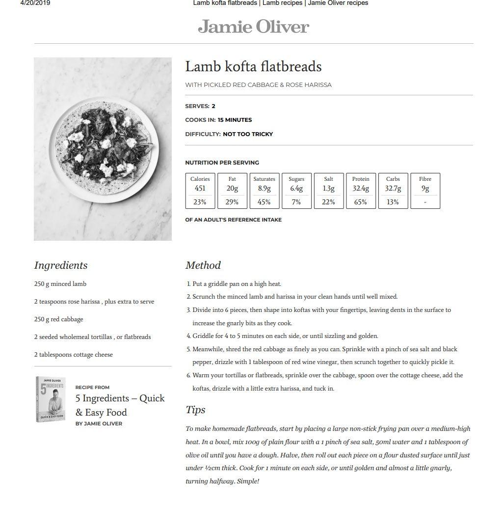 Lamb Harissa Flatbread Recipe Flatbread Recipes Lamb Recipes Harissa