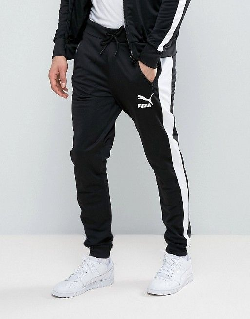 8523aa444 Puma Joggers In Black | Gucci men | Puma outfit, Joggers, Gucci men