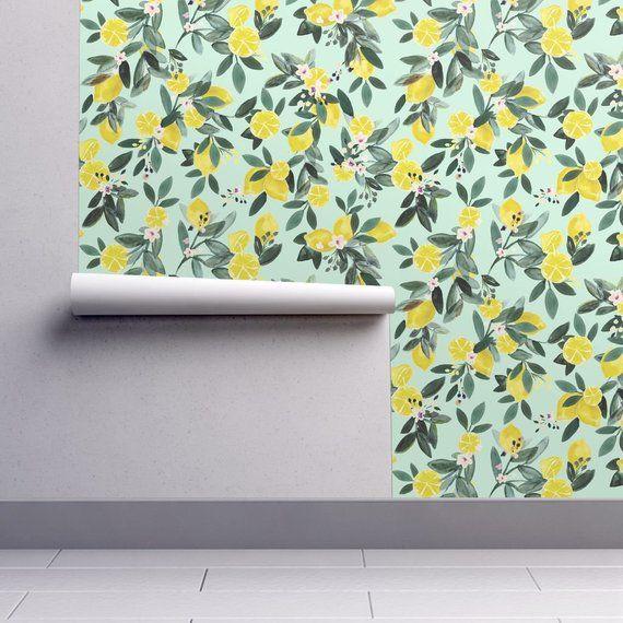 Lemons Wallpaper - Dear Clementine - Lemons By Crystal