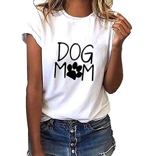 Damen Freizeit Strand T Shirt Kurzarm Bluse Oberteil Tops Hemdblusen Tunika Hemd