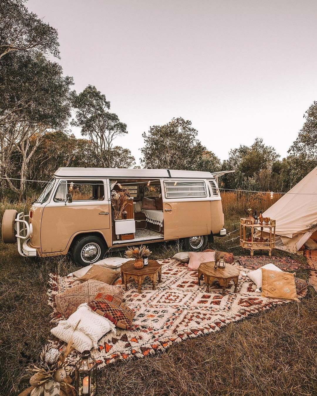 "S P E L L | spell_byronbay on Instagram: ""Nothing like a night under the stars ✨ full kombi setup post we did with @elisecook on the blog now"