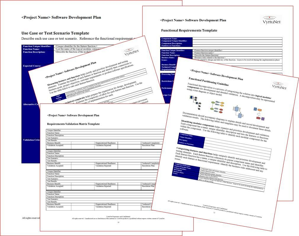 functional requirements template software development - functional requirements use case templates functional