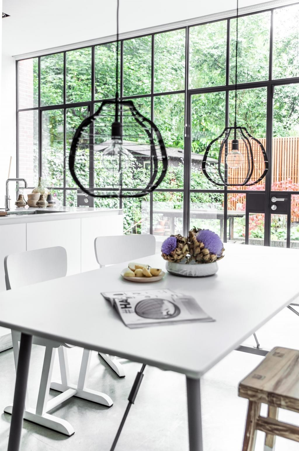 Mobile Cucina Xl Forest Hanglamp Lab Zwart Xl Hk Living Lights Decor Light