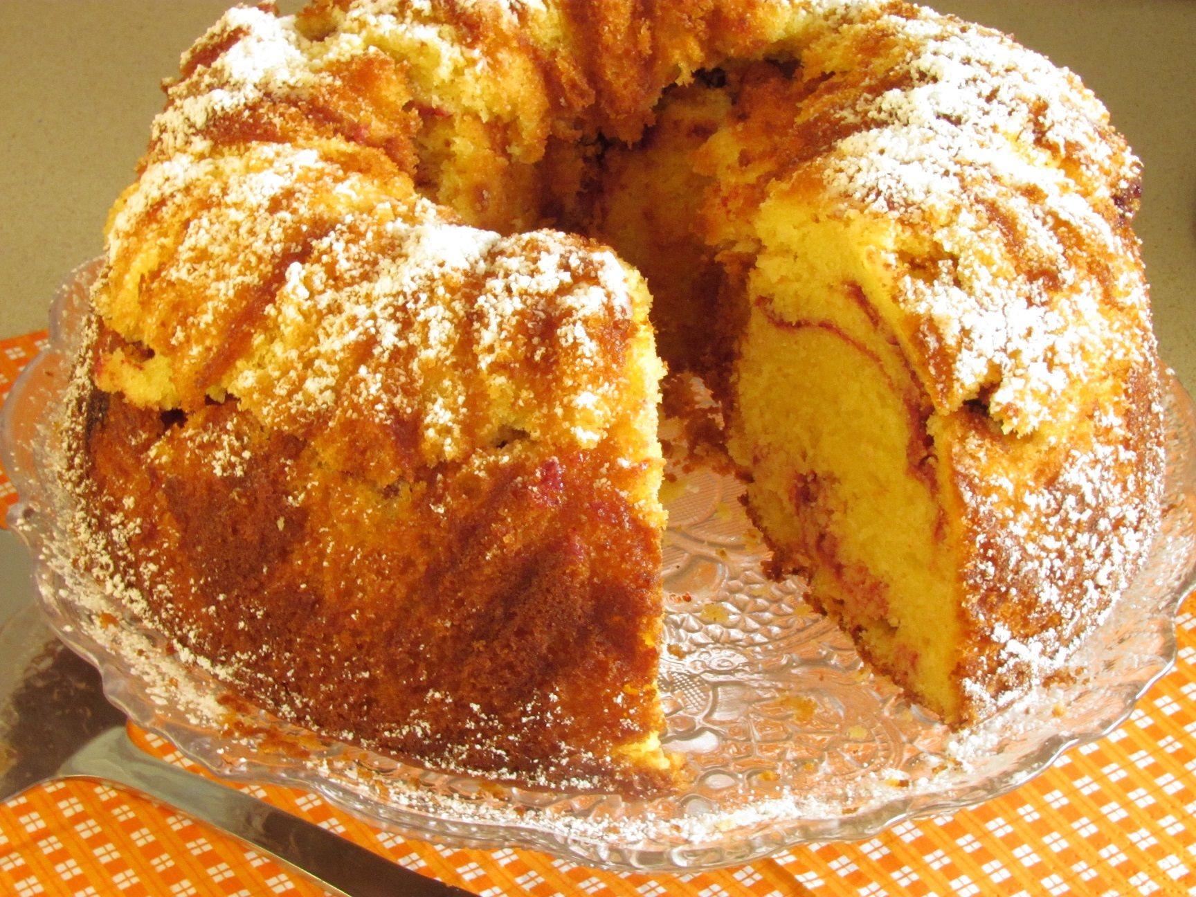 עוגת שיש פטל | יופי במטבח - חיה דר